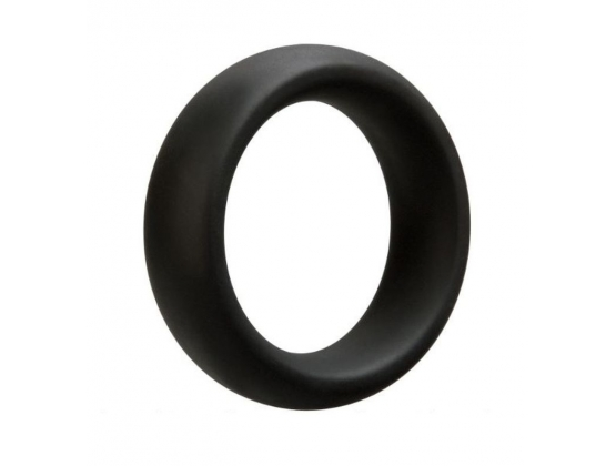Black Metal Donut Cock Ring