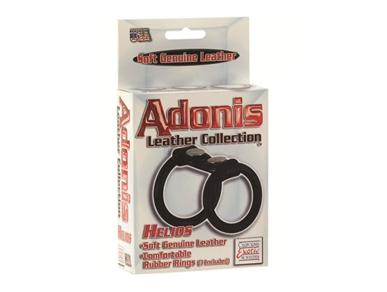 Adonis Helios Leather Cock Ring