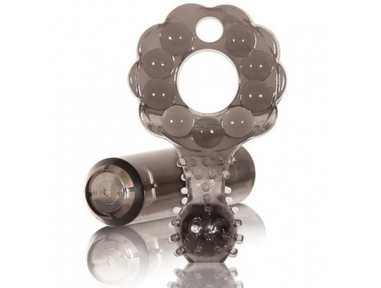 Crossbones Mighty Marble Single Bullet Smoke