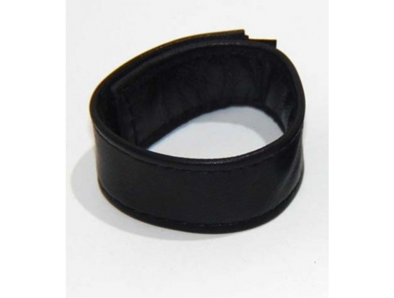 Discreet Romance Leather Cock Ring