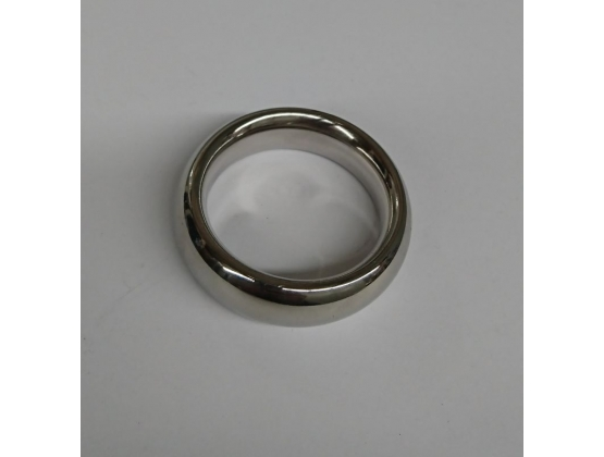 Donut Metal Cock Ring 15mm Wide