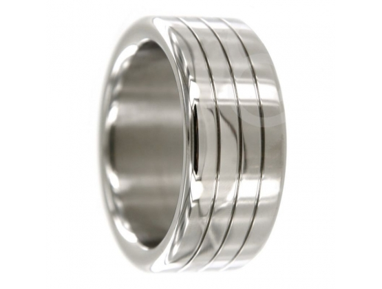 Groover Oval Metal Cock Ring