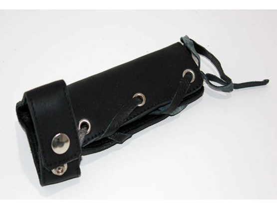 Lace Up Leather Cock Sheath