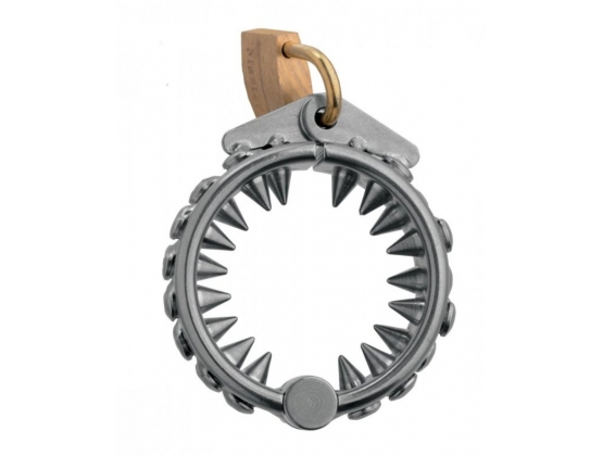 Impaler Locking CBT Ring with Spikes