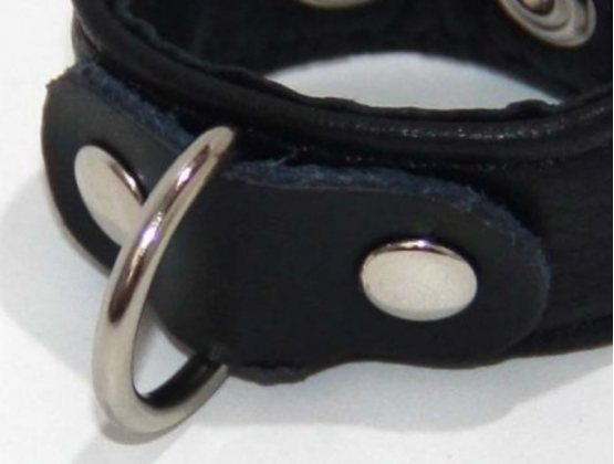 Strappy Cock Ring Leather 2 Speed