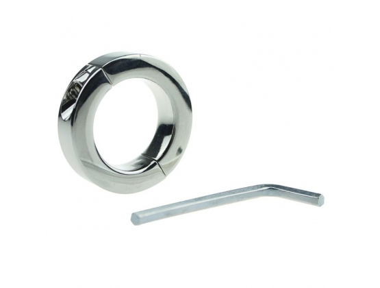 Loopy Smooth Steel Cock Ring