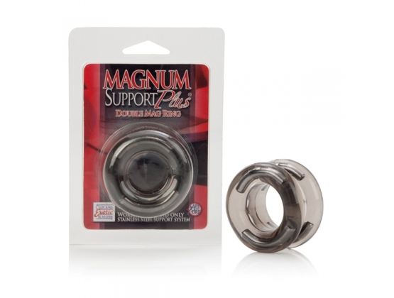 Magnum Support Plus Double Cock Ring