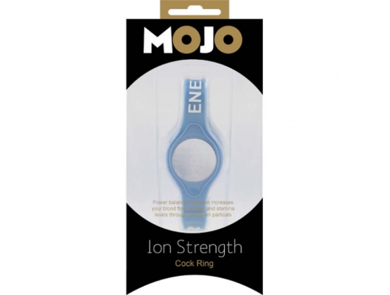MOJO Ion Strength Cock Ring Blue