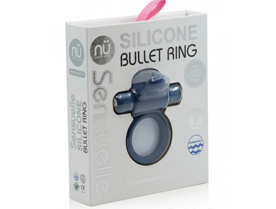 Nu Sensuelle Silicone Bullet Ring