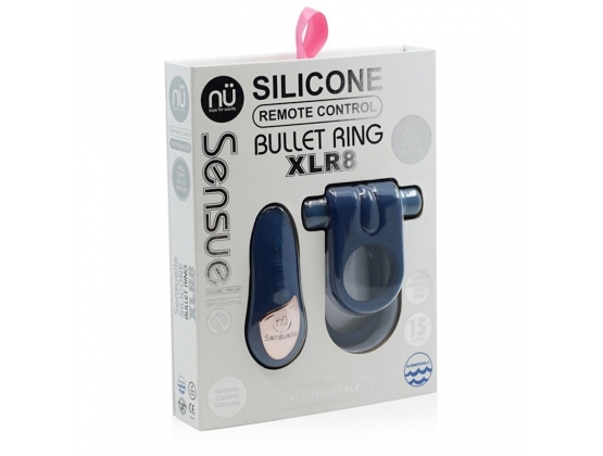Nu Sensuelle Silicone Ring with Remote Control XLR8