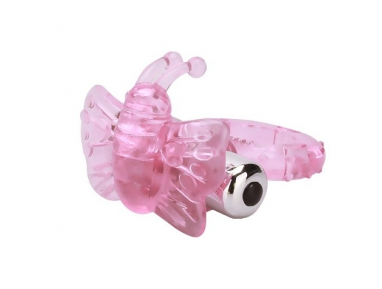 Aphrodisia Fluttering Butterfly Vibrating Cock Ring