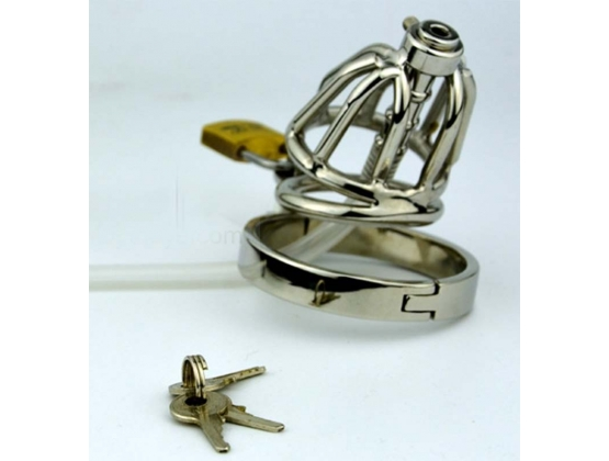 Pisser Steel Chastity Cage