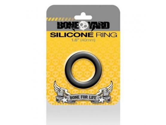 Boneyard Silicone Ring Black 50MM
