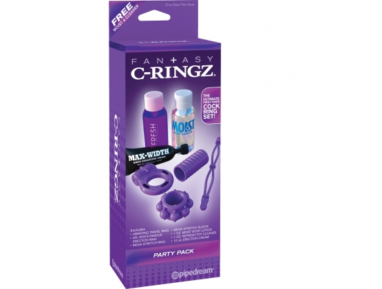 Fantasy C-Ringz Party Pack