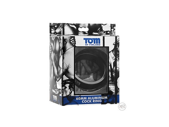 Tom of Finland Aluminium Cock Ring