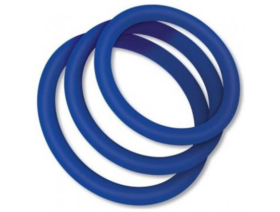 Zolo Classic Silicone Cock Ring 3 pack