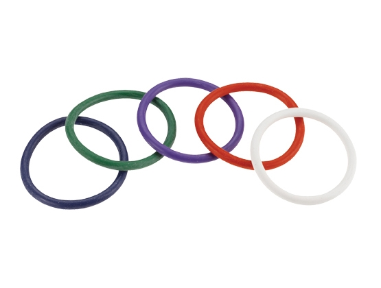 Rainbow Rubber C Ring 5 Pack
