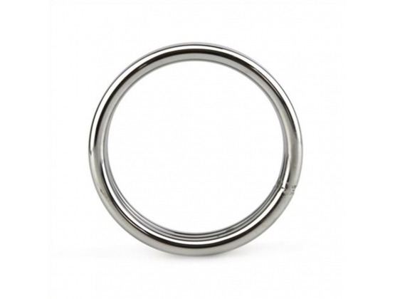 Donut Smooth Metal Cock Ring