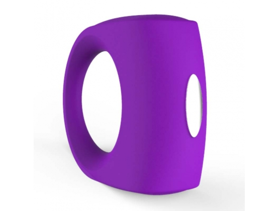 Vibrating Silicone Cock Ring