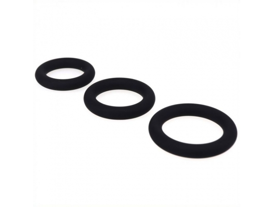 Silicone Cock Ring Set