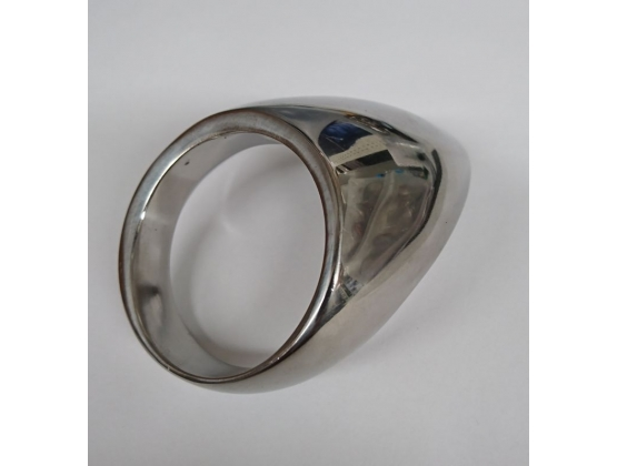 Steelworxx Cock Ring with Teardrop Shape