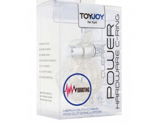 Toy Joy Power Hardware C-Ring