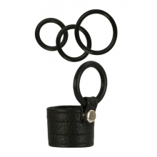 Adonis Zeus Leather Cock Ring