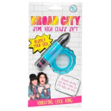 Broad City Respect Your Dick Vibrating Cock Ring